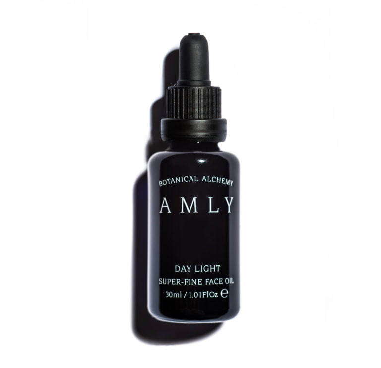 AMLY Botanical Day Light Face Oil - 100% natural, vegan and cruelty free, 30ml bottle with pipette