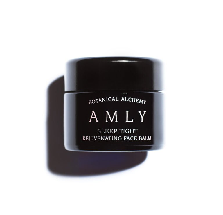 AMLY Botanicals - plant-based Sleep Tight Rejuvenating Sleep Face Balm, with organic and natural ingredients. 30ml Jar with lid.