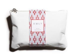 AMLY Detox Discovery Kit Bag - closeup - white background