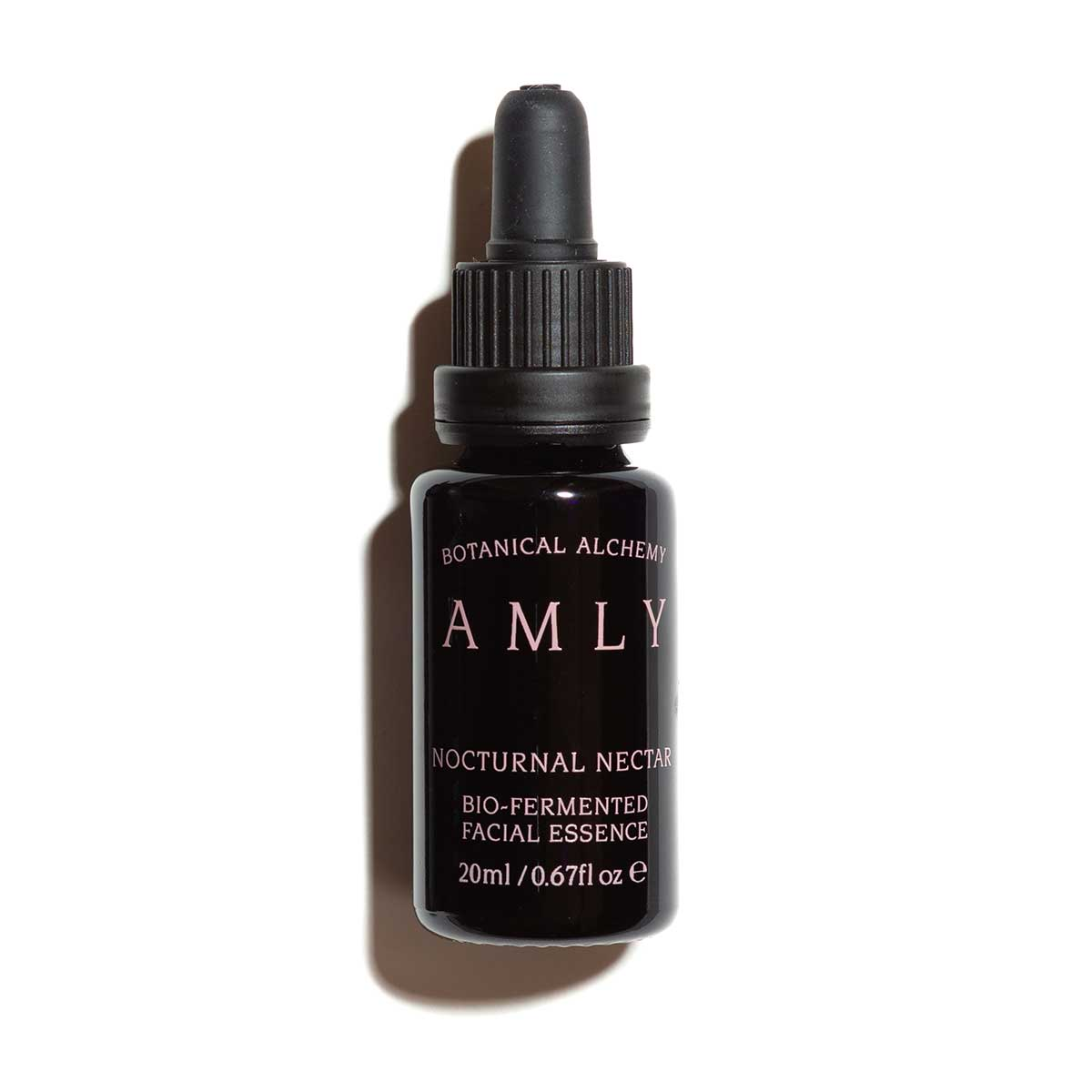 AMLY Skincare 20ml-nocturnal-nectar facial essence with lid and white background
