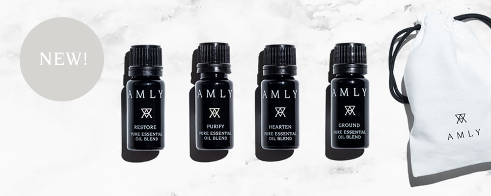 AMLY Pure essential oil blends email banner NEW IN